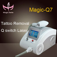 Magic belle Newest product (Magicbelle)!!!tattoo removal machine/ nd yag laser/ CE certification
