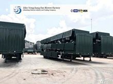 USD 9900 3 axle Container Truck Trailer Long Vehicle/Container Truck Trailer Chassis