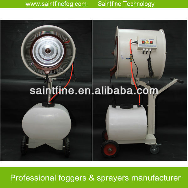 CE Certificate Electric Water Air Cooling Mist Centrifugal Industrial Humidifier Air Cooler Water Spray