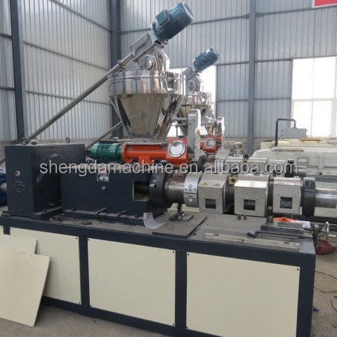 wpc fence profile extrusion machine
