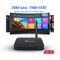 IUDTV Channels Account Subscription Codes 1 Year wth Android HD 1080P Smart IPTV TV Box X98 Pro