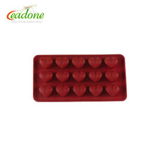 LD-C0025 2017 Christmas decorating Funny Silicone Chocolate Molds for sale