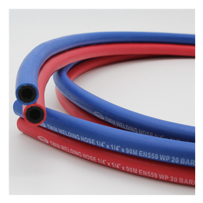 EPDM 20 Bar 1/4'' Gas Twin Welding Hose
