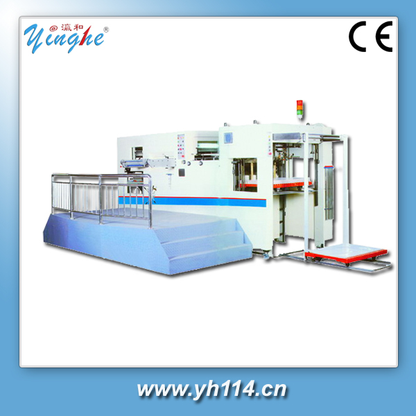 easy operation low cost die cutter for pet pp pvc
