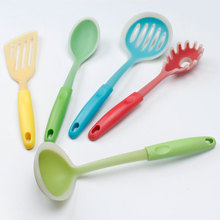 Factory wholesale soft plastic kitchen utensils with long life