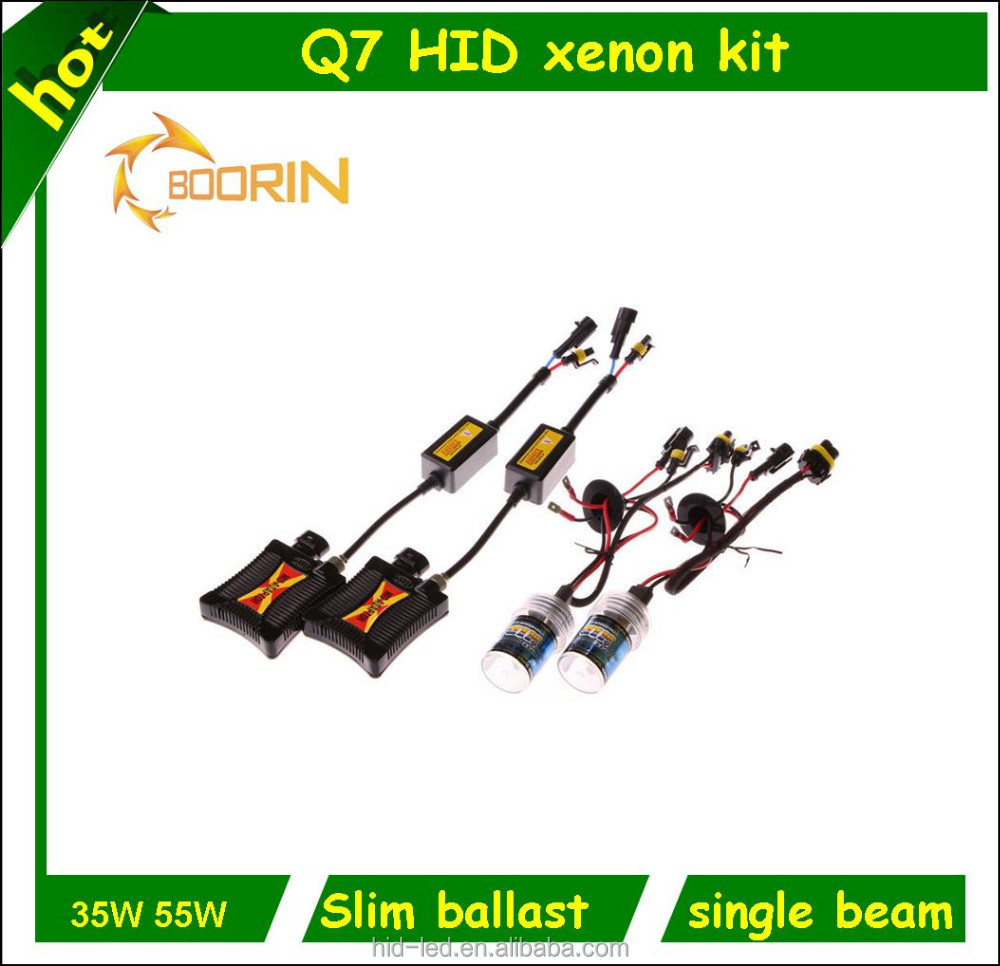 Boorin offer 4300k,5000k,6000k,8000k,10000k 12000K AC 35w/55w fast bright hid xenon kit with CE,FCC,ROHS