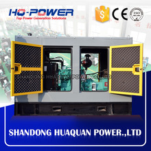 soundproof 40kw/50 kva noiseless generator for home use