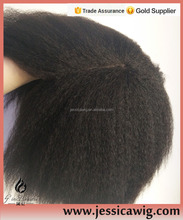 Unprocessed Mongolian Hair jewish wig kosher wigs with velvet top