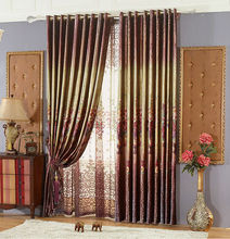 2014 suede feel black out curtain modern style sound proof curtain