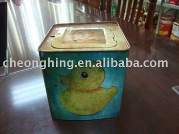 Nice tin box for toy