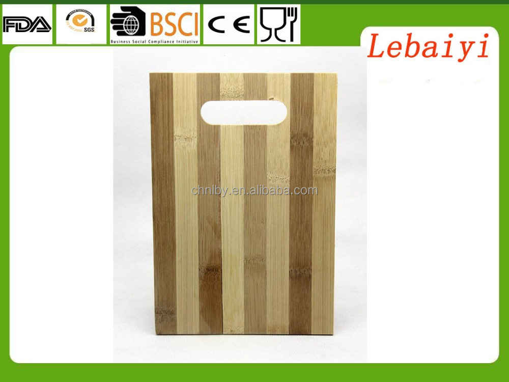 Morden small fruit bamboo cutting board single layers 25x17x0.7cm