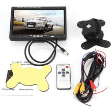 Wireless 7 Inch 9 Inch Square TFT LCD Monitor with Aviation Connector