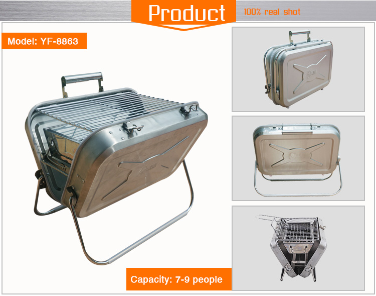 Outdoor Charcoal Hot Sale Medium Size BBQ Grill