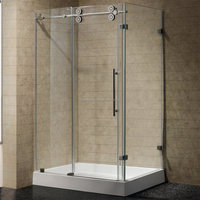 smart glass shower door with CE&CCC
