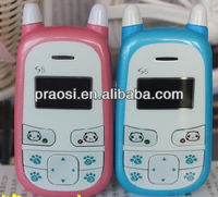 china low price kids lbs tracker mobile phone, single sim gsm sos cell phone