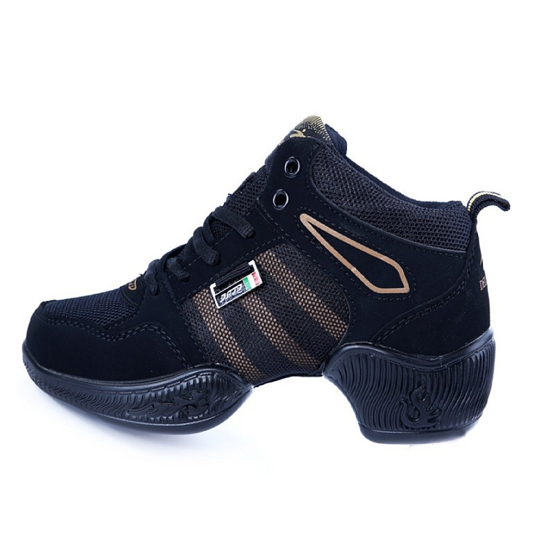 2015 Hot sale dance sport mesh fabric breathable lace-up shoes for women