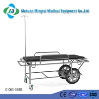 China supplier stainless steel 304 believable big wheel cart