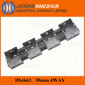 2014 BS 33-1/2/3/4 Gang wall mount galvanized steel electrical junction box