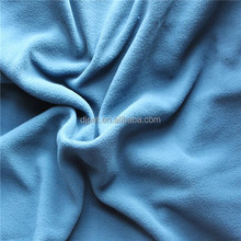 microfiber polar fleece fabric with dyed plain