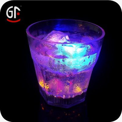 Hot Market Items Promotional Gift 10 0Z Cheap Flashing Whiskey Glasses