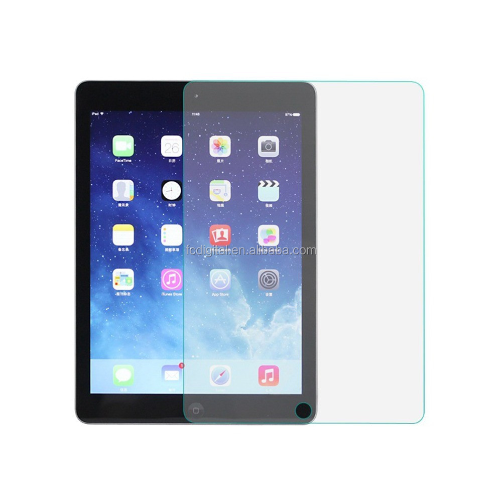 2016 best price hot for Ipad 2/3/4 tempered glass screen protector 2016