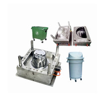 Plastic Mould Manufacturing Steel Plastic Injection Mould Trash Can Mold