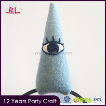 2017 Trending Products Halloween Dress Up Costume Third eye Yoga Monster Unicorn Horn Headband