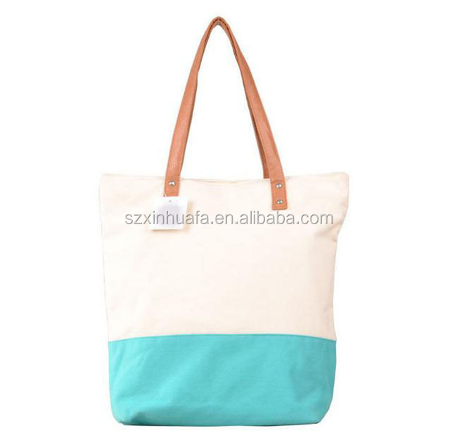 2015 China Wholesale Custom Factory Price Canvas Reuseable Shopping Bag