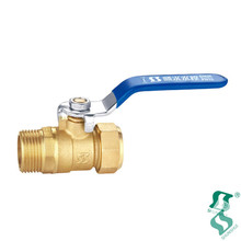 1/4 inch brass ball valve wcb 1/2 m*m thread