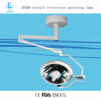 overall reflected Single arm LW700 shadowless lamp