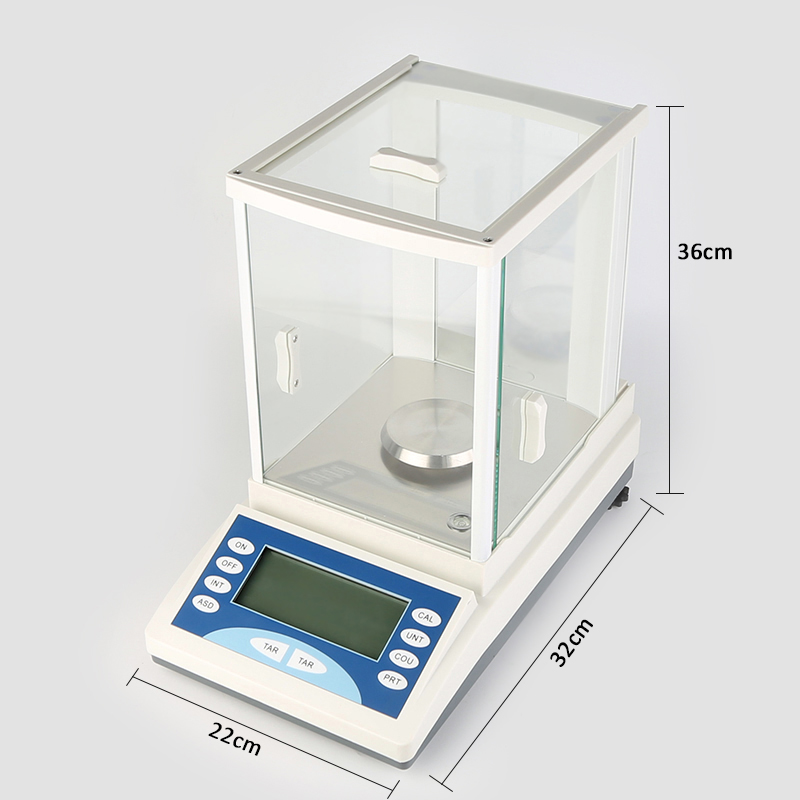 HZ2004 200 x 0.0001 g Lab Digital Analytical Balance <strong>Scale</strong> Range