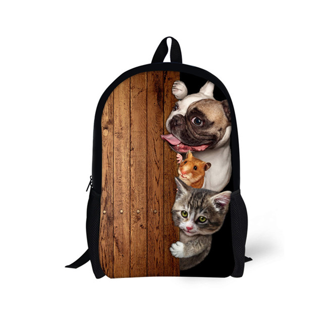 New Style backpacks <strong>school</strong> supplies china cute animal printing students shoulder bag