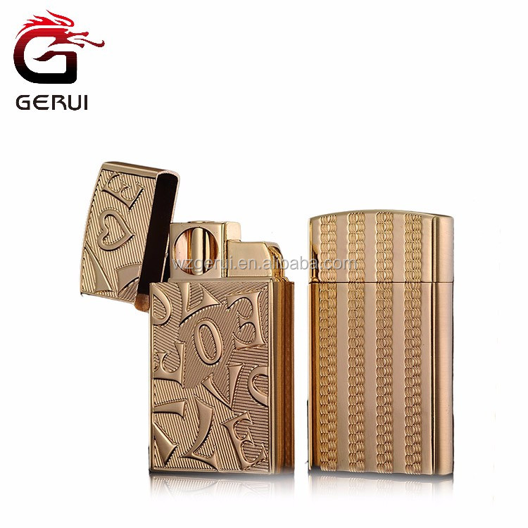 Modern Stylish High Quality Gas Lighter Refill Cigarette Metal Lighter
