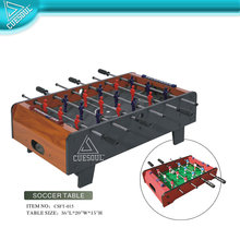 "CUESOUL 36"" foosball style table top soccer game, Babyfoot Table"