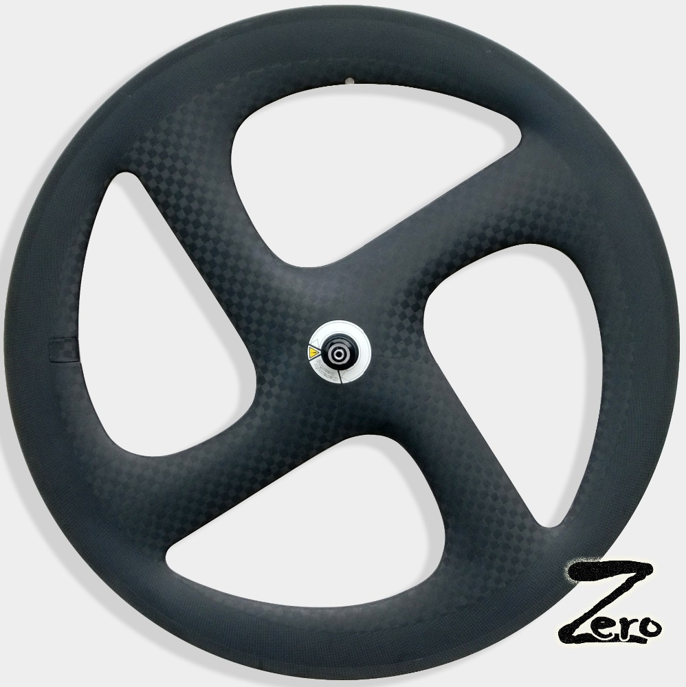 Toray T800 carbon four spoke wheel 700c carbon fiber wheel 4-spoke carbon front wheel
