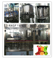 ligne de production de jus/flavored water machine /machine filling juice