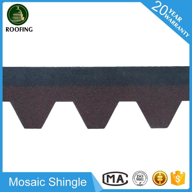 New design Mosaic cheap modified build materials asphalt shingles,cheap asphalt shingles made in China