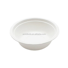 Harmless Tableware 800ml Disposable Sugarcane Bagasse Salad Cutter Bowl
