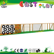 Outdoor kids wooden climbers play sets
