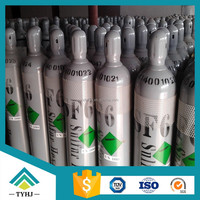 seamless steel industrial sf6 gas cylinder