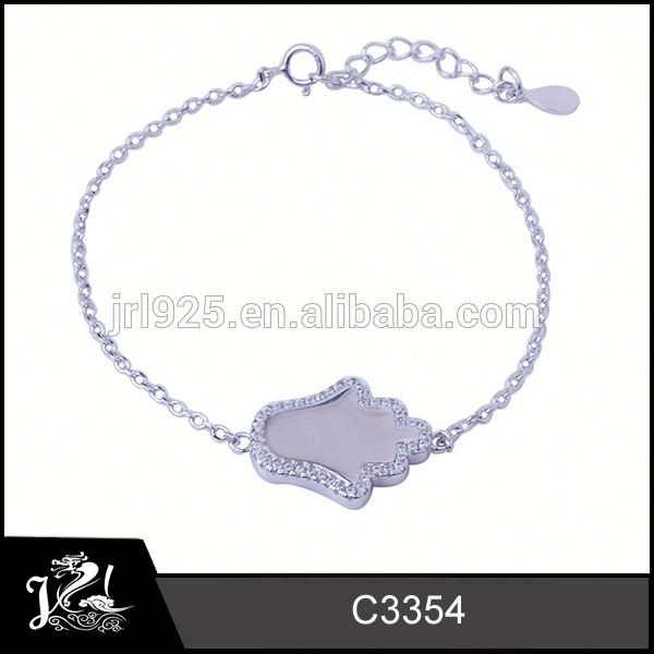Fancy Silver jewelry hot sale s925 bangle with stars jewelery manufacturer