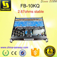 FB -10KQ 4 Channel Electronic Acoustic Power Amplifier