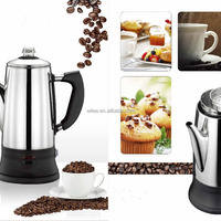 Stainless Steel Electric Coffee Maker Coffee