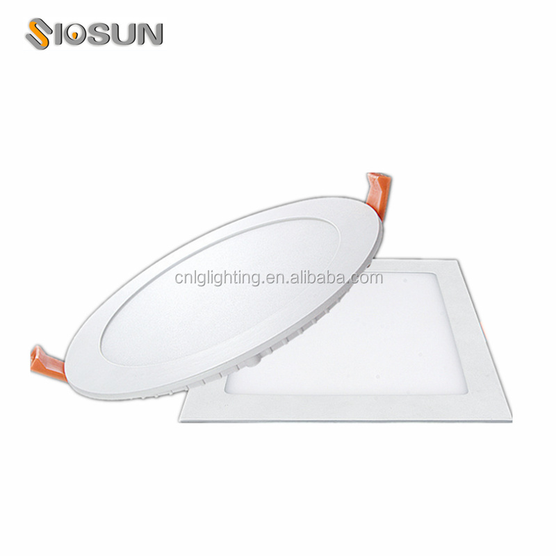 Dimmable 6W 12W 18W Livarno Lux Led Panel Light Round&Square Samsung chip