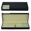 Mini Size Travel Leather Gambling Mahjong Set Case
