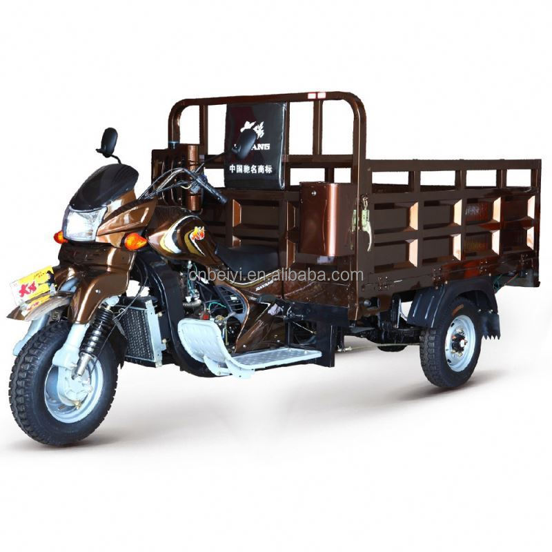 China BeiYi DaYang Brand 150cc/175cc/200cc/250cc/300cc 2013 three wheel van cargo tricycle