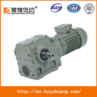 yuhuang Helical Worm Geared Motors Gearbox price good
