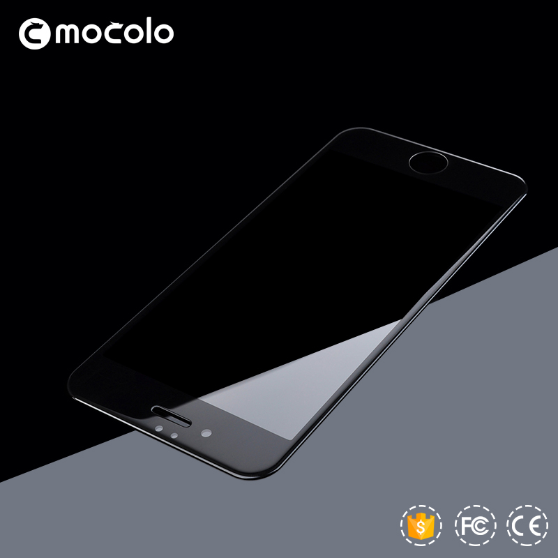 Mocolo Tempered Glass Screen Protector 9H Soft Bumper Wholesale for iPhone7 Factory Supply OEM Retail Package