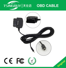 Auto Obd2 USB Cable 16 Pin Obd2 Connector Cable For Code Read