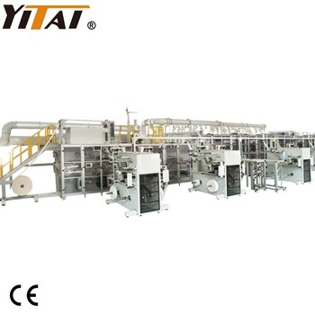Semi Servo Disposable Baby Diaper Making Machine, Pull-ups Pants Baby Diaper Making Machine with High Quality